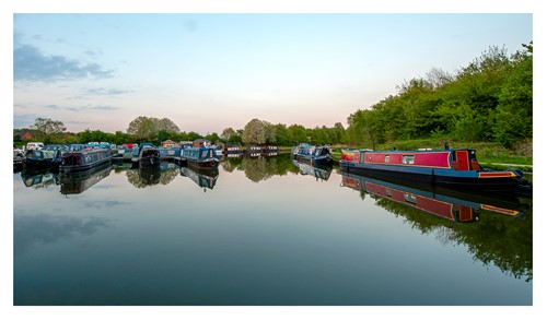 Barges at Boothstown Marina
